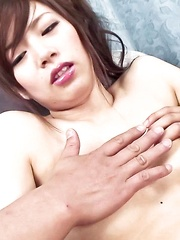 Keito Miyazawa Asian with legs in ropes gets vibrators in crack