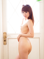 Cute Japanese schoolgirl cosplay turns naughty when Lili-chan decides to get completely naked and show off her nubile body!