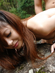 Very hot outdoor sex session with Sakurako