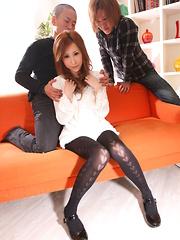 Sexy Reina Ichijo showing her nice titties