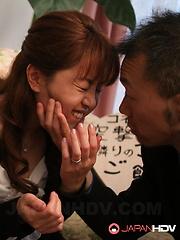 Lesbo gals Yuko and Ryo Shinohara want sex