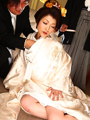 Sexy Japanese darling Yui Ayana gets teased
